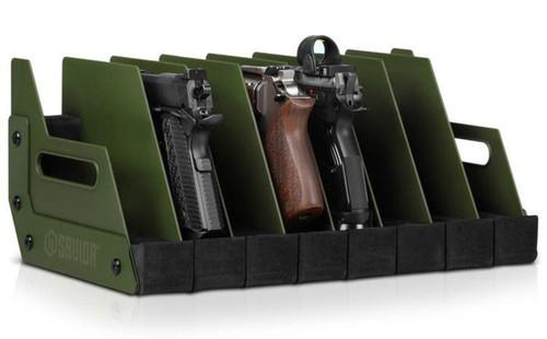 Savior Equipment Pistol Storage Gun Rack (Model: 8 Slot)