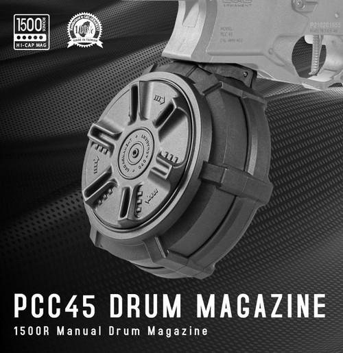 PCC45 1500R Drum Magazine