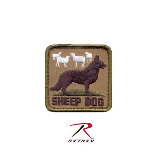 Patch - Sheep Dog - Velcro Back