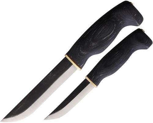 Big Double Fixed Blade Set Blk