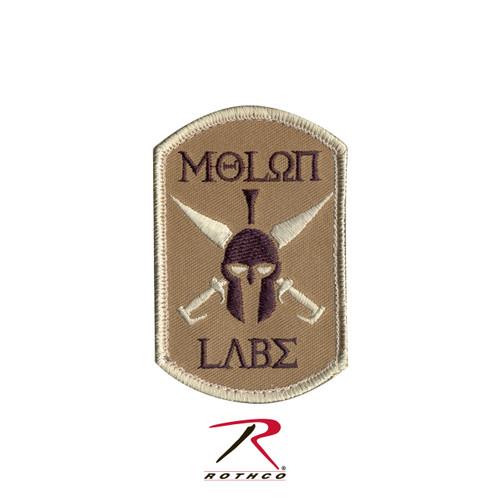 Patch - Molon Labe - Tan