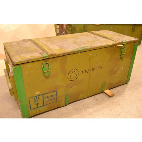 Russian Military Issue Weapons Transportation Crate - Like New