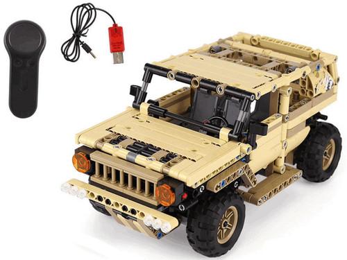 MouldKing Armour Alliance RC Block Toy Set (Model: Humvee)