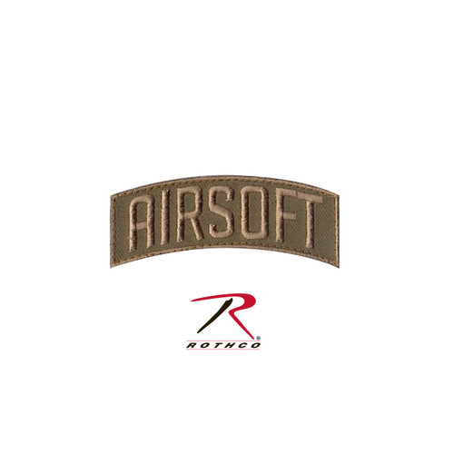 Airsoft Shoulder Patch - Velcro