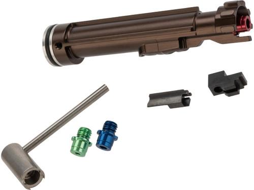 RA-TECH Magnetic Locking NPAS Aluminum Loading Nozzle Set (Model: WE M4 / M16 GBB)
