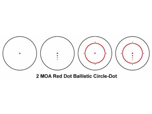 SIG Sauer Romeo4 1x20mm 2MOA Compact Red Dot Sight