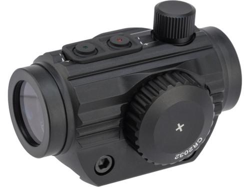 AIM Sports 1x20mm 5 MOA Dual Illuminated Micro Dot Sight