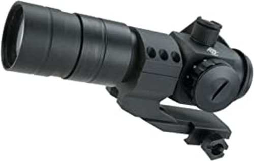 1.5x30 Red Dot Sight Scope System w/ Magnifier (Color: Black)