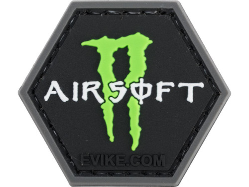 """""""Operator Profile PVC Hex Patch"""" Pop Culture Series 3 (Style: Airsoft Monster)"""
