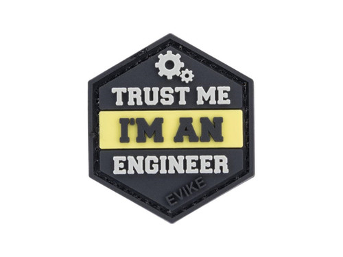 """""""Operator Profile PVC Hex Patch"""" Trust Me Series (Style: Engineer)"""