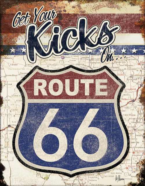 Your Kicks Route 66 Sign