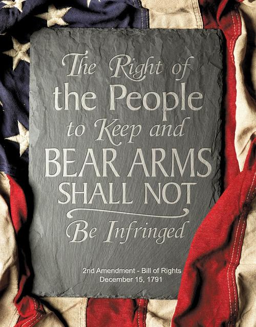 2nd Amendment Right Sign