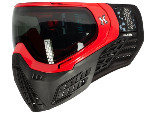 HK Army KLR Full Seal Airsoft/Paintball Mask (Color: Blackout Red)