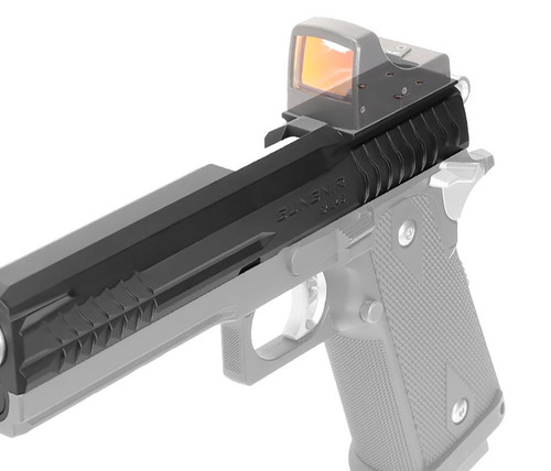 "Laylax / Nine Ball ""GUNGNIR"" Custom Slide w/ Direct Micro-Dot Mount for Hi-Capa 5.1 Series GBB Pistols"