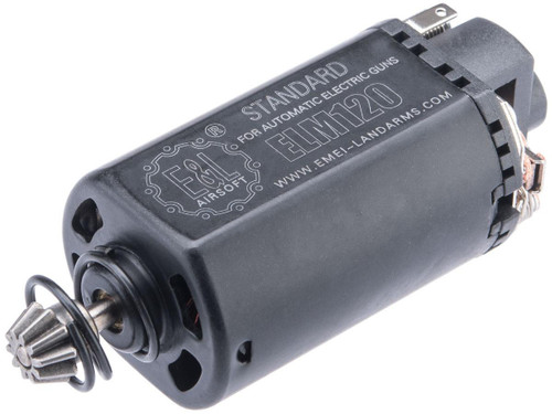 E&L Airsoft Short Type Motor for Airsoft AEGs (Model: M120 Standard)