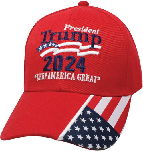 Trump 2024 Hat Red