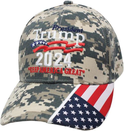 Trump 2024 Hat Camo