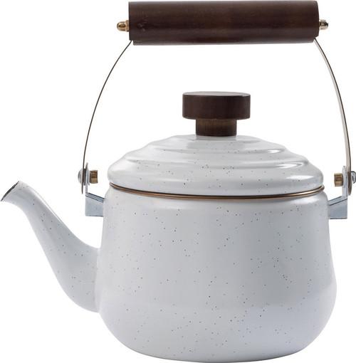 Enamel Teapot Eggshell