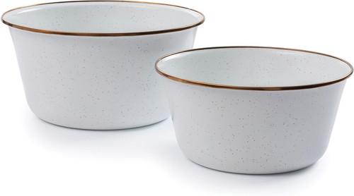 Enamel Mixing Bowl Set