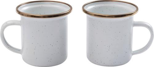 Enamel Espresso Cup Eggshell