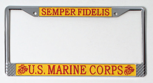 License Plate Frame - US Marines