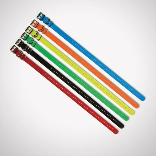 "3/4"" Black Collar Strap"