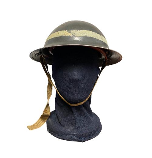 WWII Belgium Doughboy Helmet