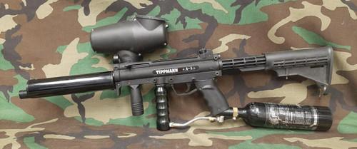 Tippmann A5 Paintball Gun - Bundle - BONEYARD