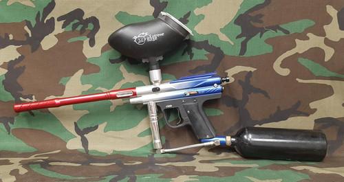 PMI Piranha GTI EForce Paintball Marker - BONEYARD