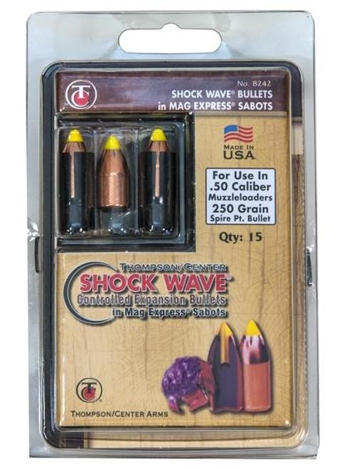 50 Cal Shockwave 250Gr Sabots