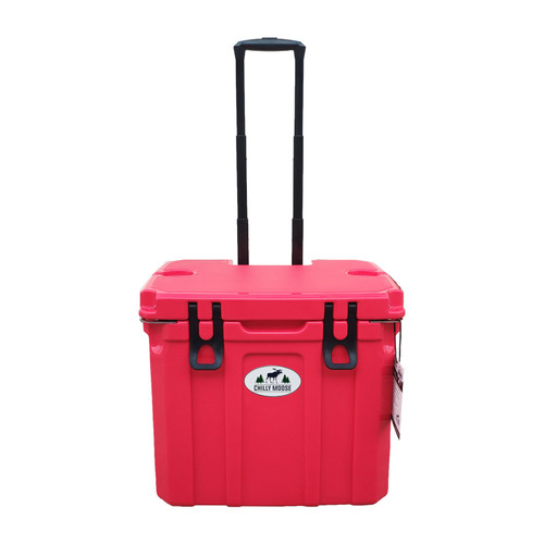 35L Chilly Ice Box w/Wheels - Canoe Red