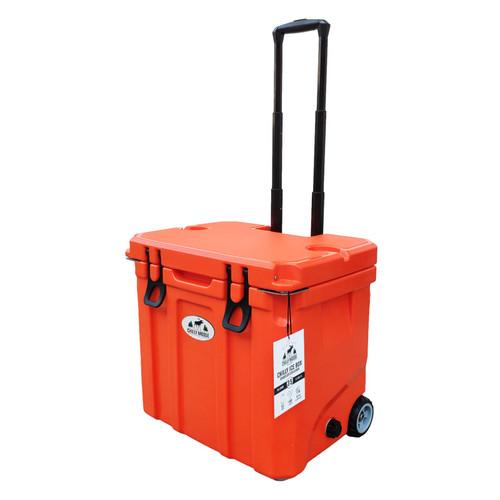 35L Chilly Ice Box w/Wheels - Blazing Orange