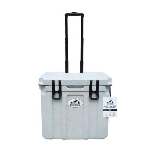 35L Chilly Ice Box w/Wheels - Limestone