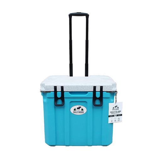 35L Chilly Ice Box w/Wheels - Tobermory