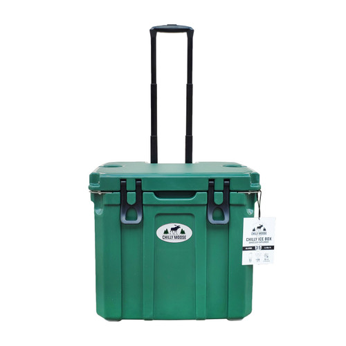 35L Chilly Ice Box w/Wheels - Forest