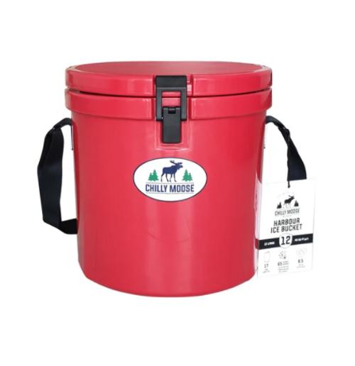 12L Harbour Bucket - Canoe Red