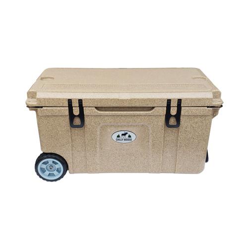75L Chilly Ice Box w/ Wheels - Granite