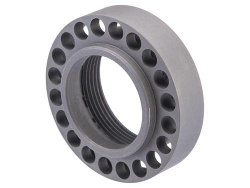 Matrix CNC Steel Barrel Nut for Free Float RAS Handguards