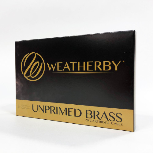340 Wby Brass Per/20