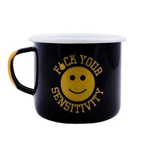 Black Rifle Coffee Company F**K Your Sensitivity Enamel Mug