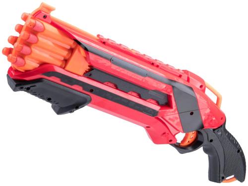 "XHERO ""Hand Cannon"" Pump Action Foam Dart Gun Pistol (Color: Red Team)"