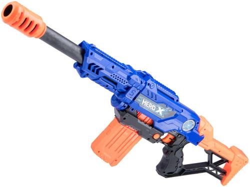 "XHERO Foam Dart Gun ""Trooper"" Multi-Shot Rifle and Pistol Set w/ Darts and Targets"