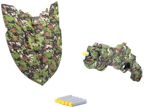 XHERO Military Series Camouflage Foam Dart Gun and Shield Set
