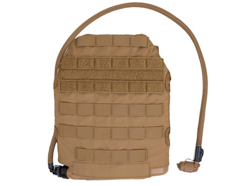 Qore Performance IMS Combo MOLLE Sleeve + IcePlate Curve MOLLE Plate Carrier Hydration System