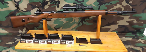 G&G G980 KAR 98K Gas Rifle with Real Wood - Package - USED