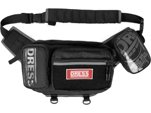 DRESS Waist & Shoulder 2-Way Fishing Bag PLUS