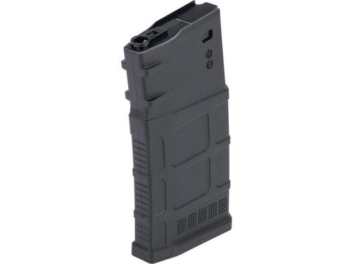 A&K 470rd Polymer Flash Mag SR-25 Airsoft AEG Magazine (Color: Black)