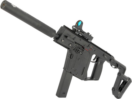 Eliminator High Power Krytac KRISS Vector Carbine Airsoft AEG with Extended Barrel