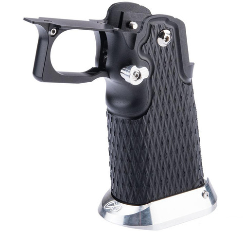 Airsoft Masterpiece Aluminum Grip Type 18 Diamond V2 for Tokyo Marui Hi-Capa Airsoft Pistols