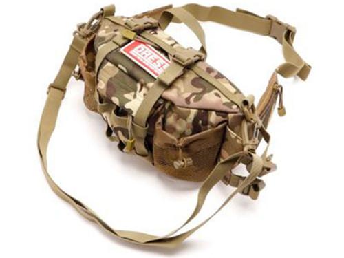DRESS Tactical Military Style Multi Purpose Waist Bag